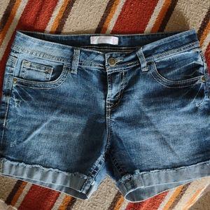 No Boundaries Ladie's Denim Shorts